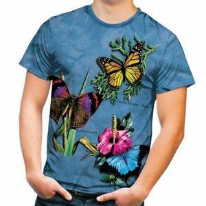 The Mountain Butterfly Tye Dye Tee